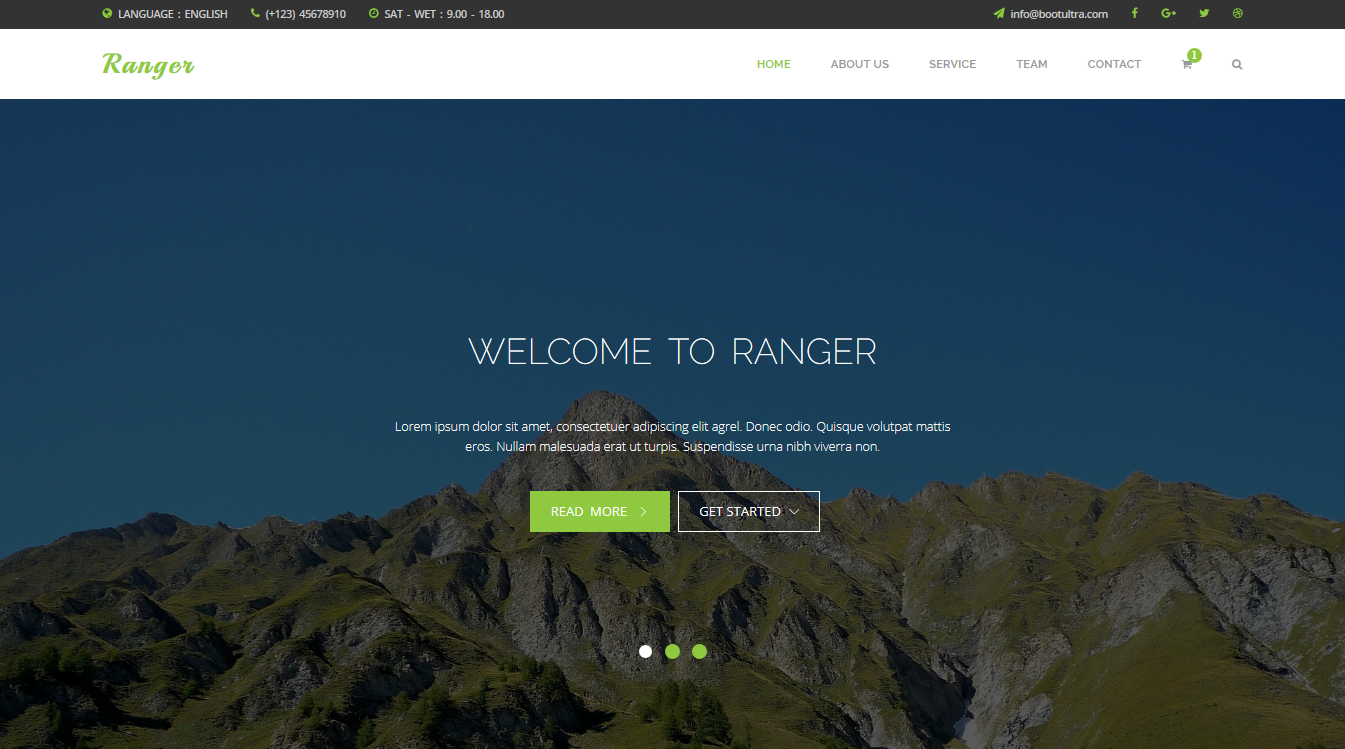 Top 10 Free Responsive Website Templates For Professional And