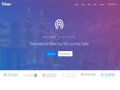 Refugee – Responsive Bootstrap Template