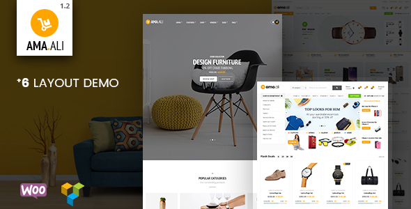 Ama.Ali - Market Shop WooCommerce WordPress Theme