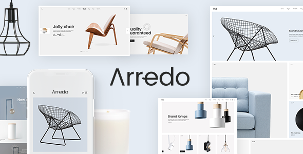 Arredo - A Clean WooCommerce WordPress Theme