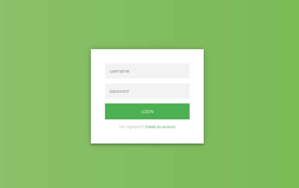 Flat-HTML5-CSS3-Login-Form : 10+ Free HTML5 And CSS3 Login Form Templates For Your Website 2018