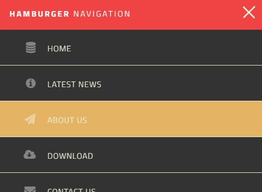 Thesis custom css nav menu