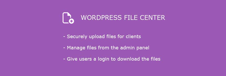 wordpress-file-center
