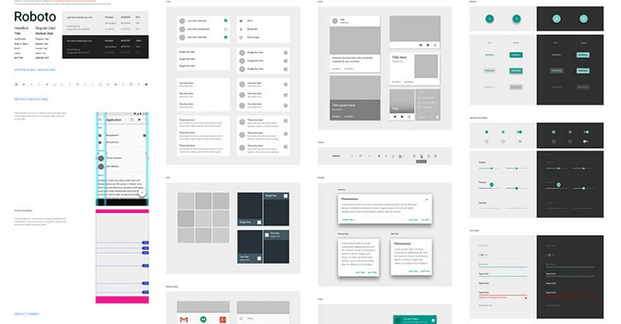 Top 10 Eye Catching UI Kits for Sketch , PSD and CSS & HTML for Web development in 2018