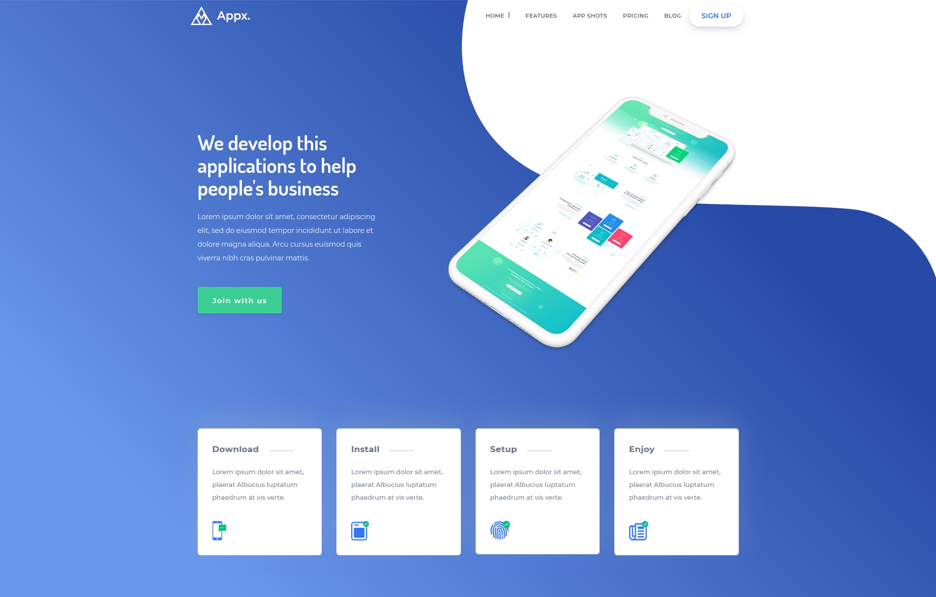 Appx-Bootstrap-Landing-Page-1