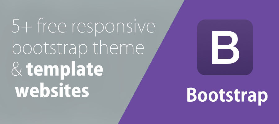 5+ free responsive bootstrap themes & templates websites