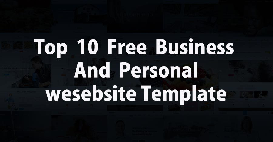 Top 10 free responsive website templates for professional and top 10 free responsive website templates for professional and personal websites accmission Gallery