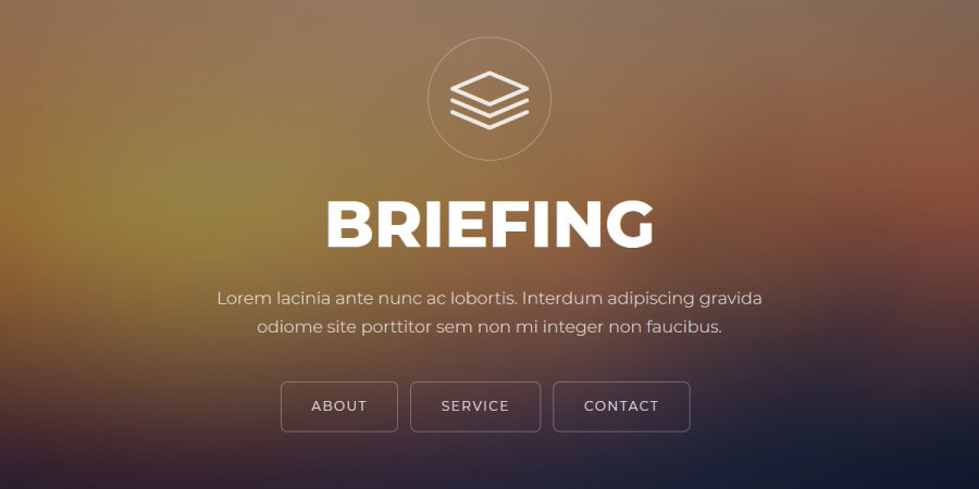 Briefing - Responsive Bootstrap Template