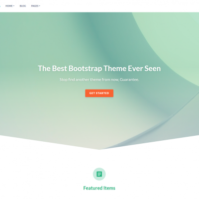 eShop - Responsive Bootstrap template
