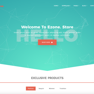 EZONE - Multi-Purposes Bootstrap Template