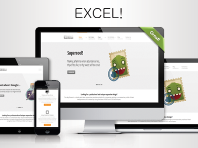 Excel! - A responsive multipurpose HTML theme