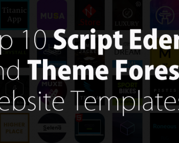 Top 10 Premium Website Templates For Business And Personal Websites