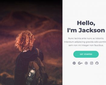 Jackson - Bootstrap template for Portfolio Websites