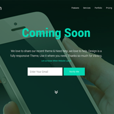 Design - Awesome Landing Page
