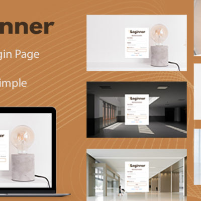Loginner - HTML5 Theme for Login Pages